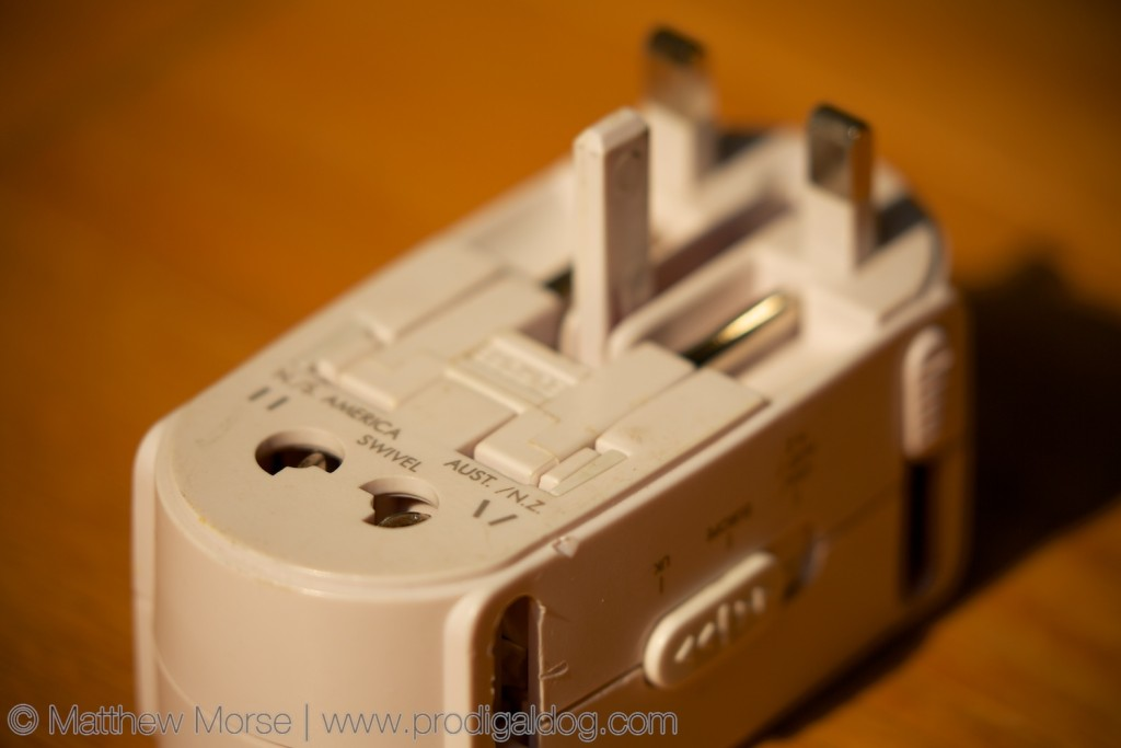 Electricity Abroad Plug Adapter