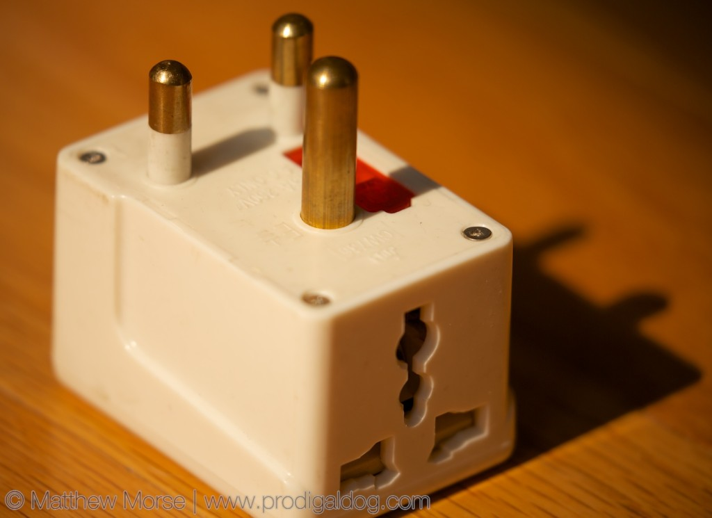 Electricity Abroad South African Plug Adapter