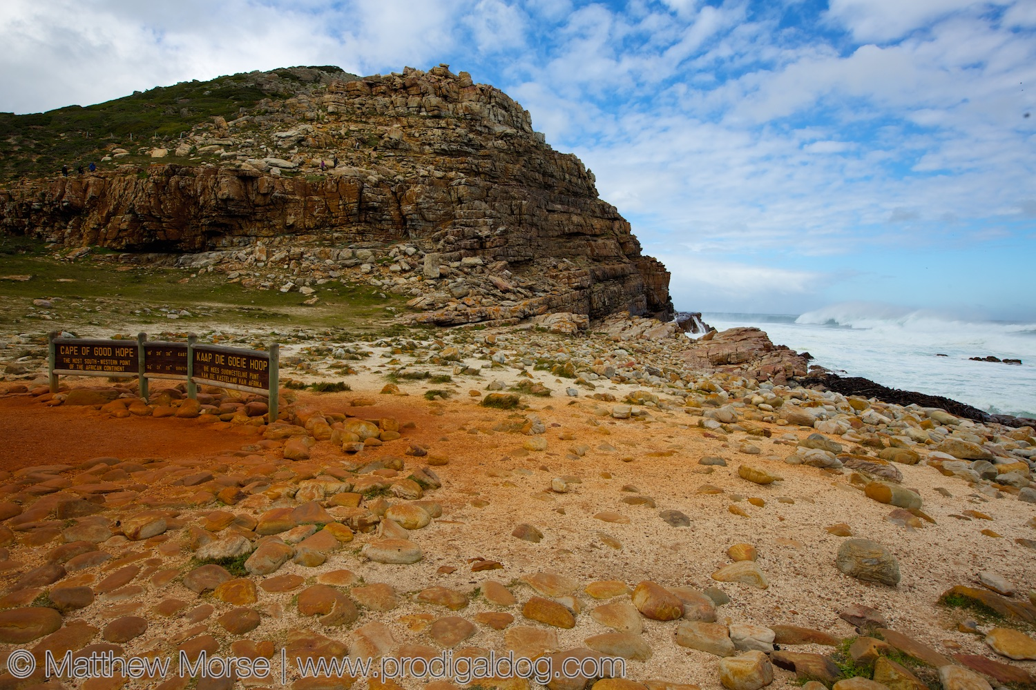 good hope Cape of good hope: cape of good hope, rocky promontory at the southern end of cape peninsula, western cape province, south africa it was first sighted by the portuguese navigator bartolomeu dias in 1488 on his return voyage to portugal after ascertaining the southern limits of the african.